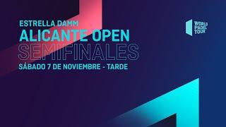 Semifinales Tarde -  Estrella Damm Alicante Open   2020  - World Padel Tour