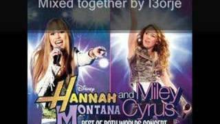 Hannah & Miley - The Best of Both Worlds Concert Full CD mix