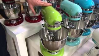 KitchenAid 4.5qt. 300W Tilt Head Stand Mixer with Flex Edge with Rick Domeier