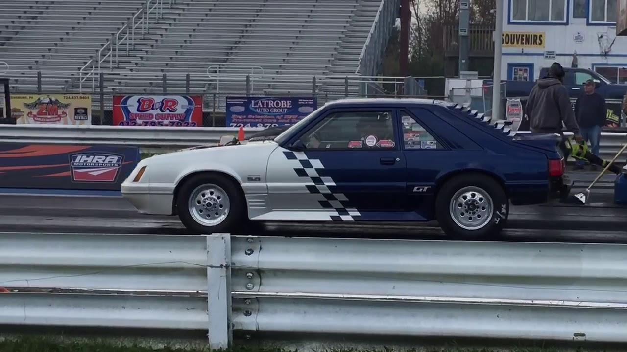 Procharged Fox At Track, slow shifting..lol