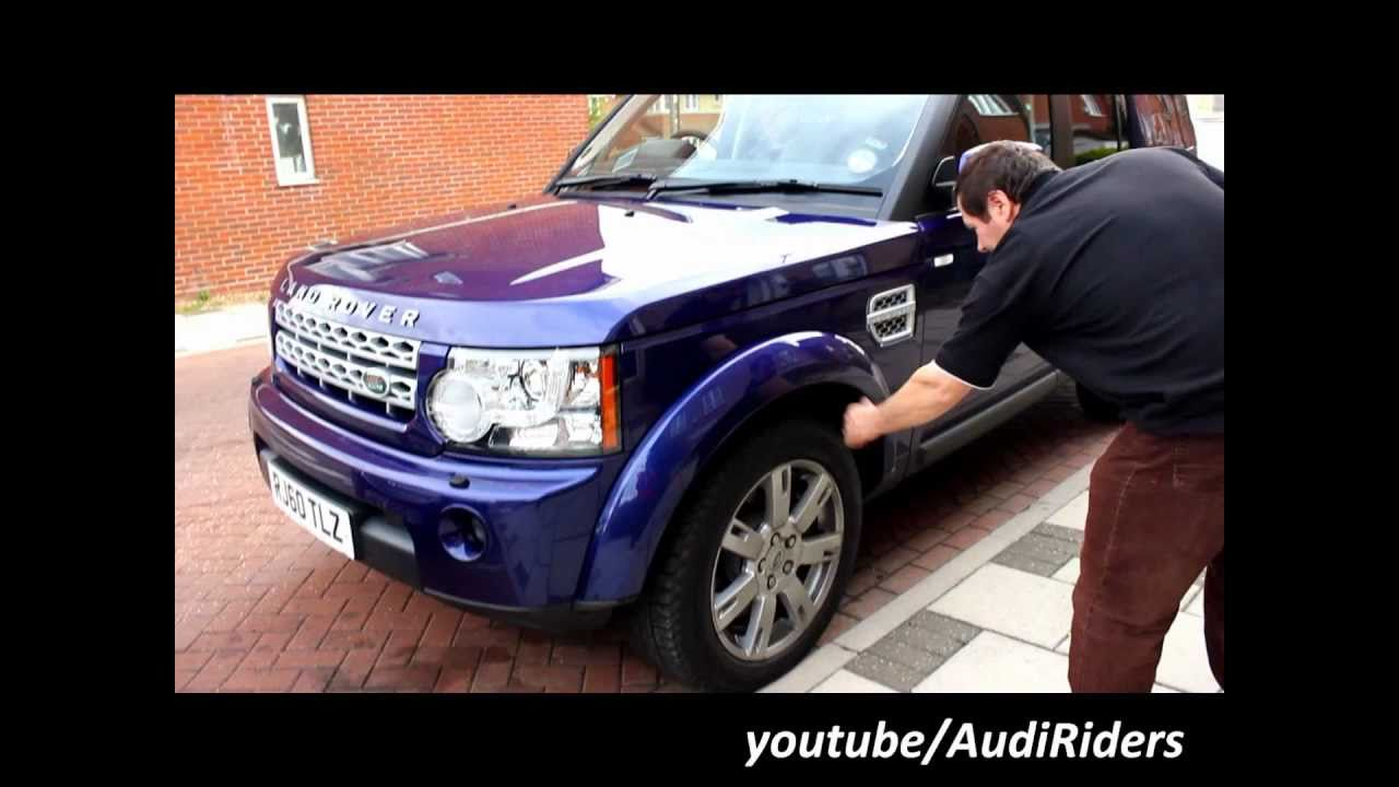 52c2500868 LAND ROVER DISCOVERY 4 2010-2011 AIR SUSPENSION BAGS DEMONSTRATION ...