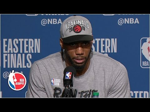 'I just want to win, I don't care about being the best player' - Kawhi Leonard | 2019 NBA Playoffs
