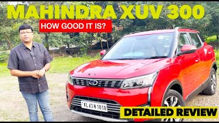 Mahindra XUV300 | How good it is? | Sub 4 Meter SUV |Review by Baiju N Nair