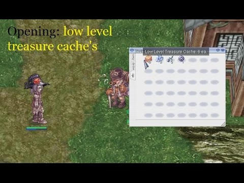 IRO Classic : Opening Low Level Treasure Cache Boxes