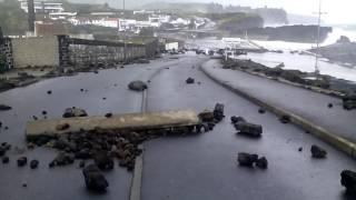 Tempestade nos Açores poços S.vicente Ferreira