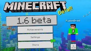 MCPE 1.6 BETA UPDATE!!! - Minecraft Pocket Edition