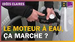 Carburant : le moteur à eau, ça marche ?