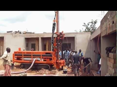 Machine de forage Stenuick S440P Foreuse d'eau avec pompe à boue intégrée