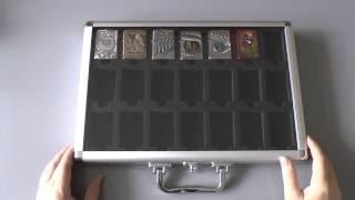 кейс для хранения коллекции зажигалок Zippo. Обзор моей коллекции зажигалок