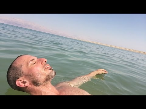 Floating in the Dead Sea ...You Can't Sink!