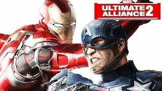 Marvel: Ultimate Alliance 2 - Civil War Story - All Cut Scenes [Movie] [FULL]
