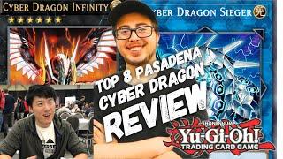Tim Li Reviews Top 8 Cyber Dragon - YCS at Pasadena, CA 2018 - Yu-Gi-Oh!