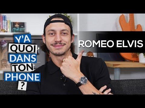 Youtube: ROMÉO ELVIS: sa playlist pour Y'a quoi dans ton phone?