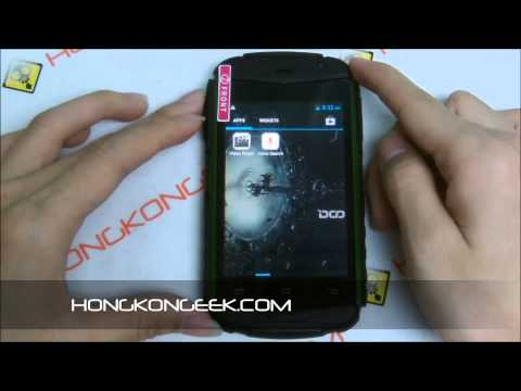 - UNBOXING AND TEST - CHINESE SMARTPHONE DOOGEE DG150 ANDROID 4.2 IP67