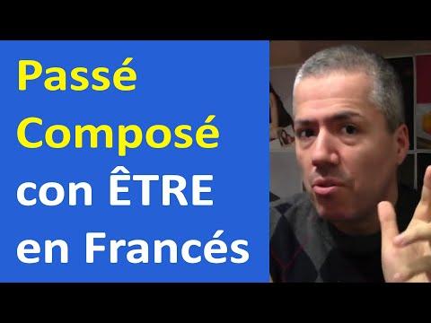Passé Composé con ÊTRE en Francés: Truco para memorizar Verbos / Francés Básico Clase 25 Francés