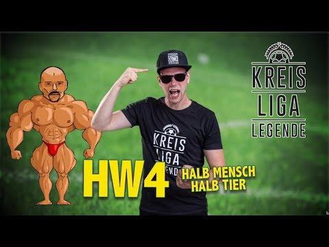 Kreisligalegende - HW4 (Halb Mensch halb Tier) | OFFICIAL LYRIC VIDEO