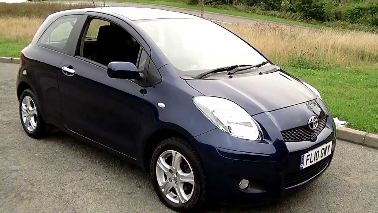 2010 toyota yaris 1 0 tr 46k fsh now sold youtube. Black Bedroom Furniture Sets. Home Design Ideas