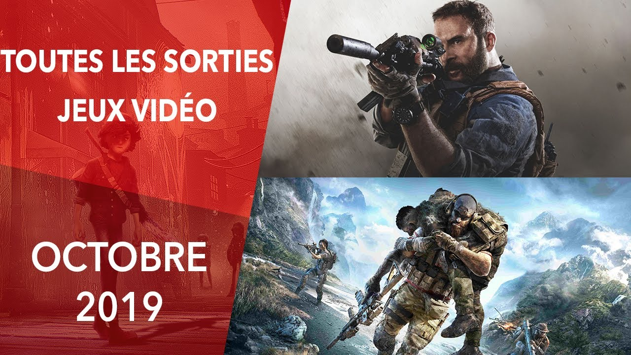 Calendrier Trail 2020.Calendrier Les Sorties Jeux Video Octobre 2019