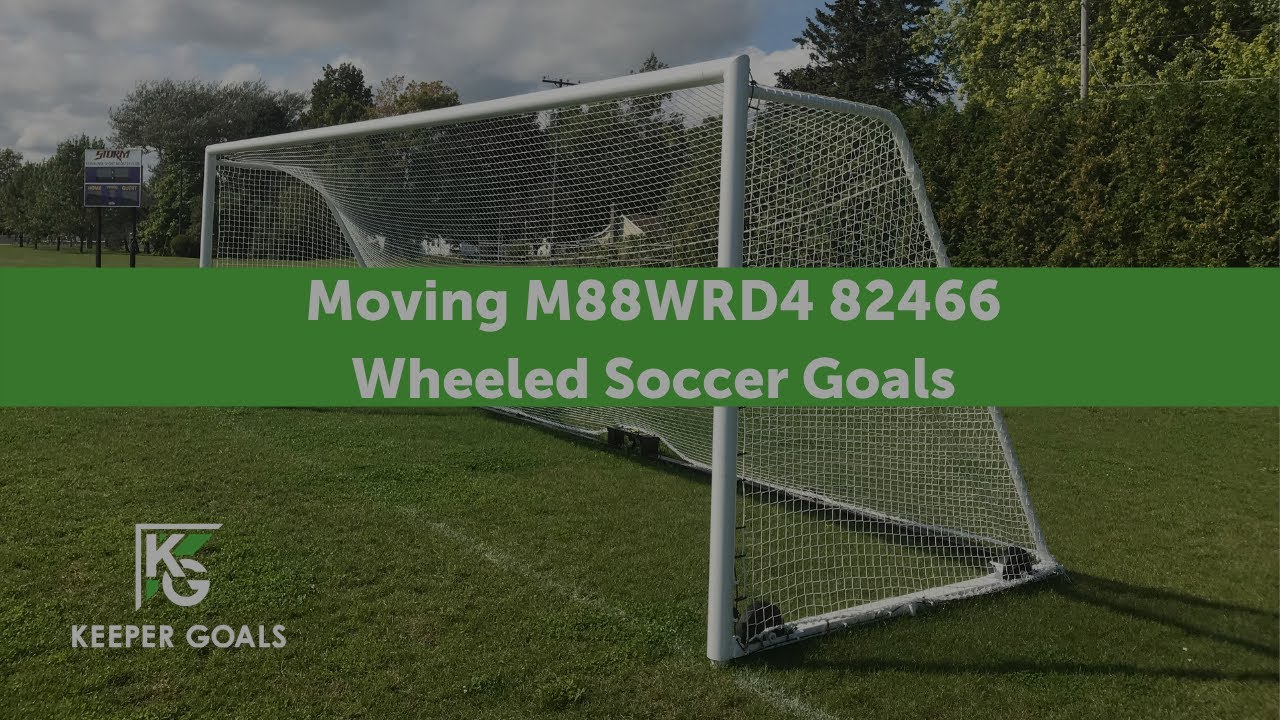 moving m88w rd4 824 66 wheeled soccer goals youtube