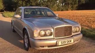 1998 bentley arnage green label 4.4 BMW V8 turbo video