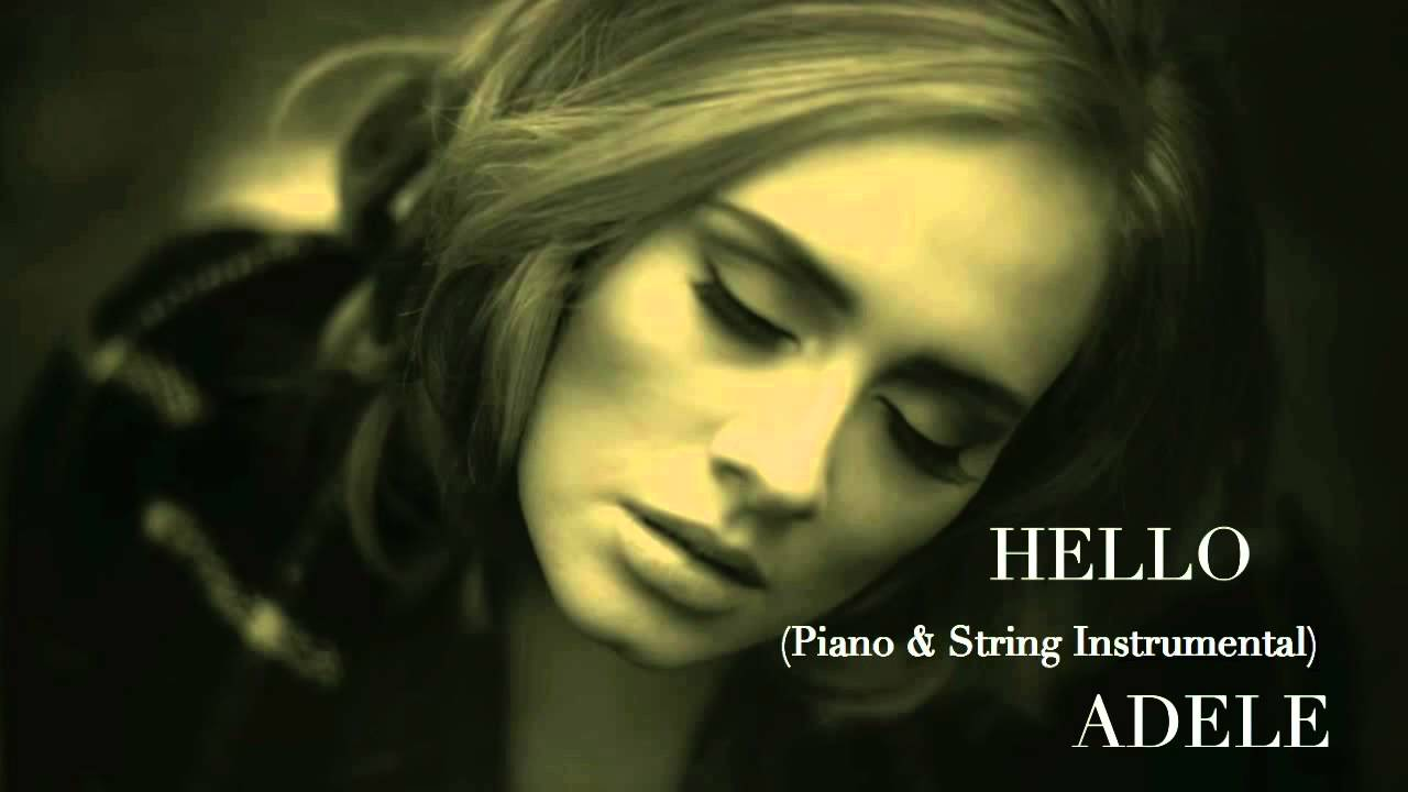 Hello Instrumental Adele Youtube