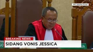 sidang vonis jessica surat putusan jessica wongso sebanyak 377 lembar