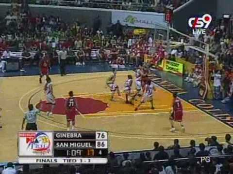 San Miguel Vs Ginebra - Game7 (last 2 minutes)