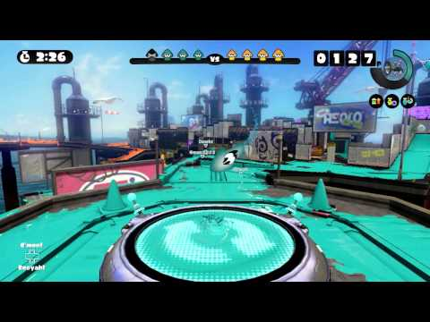 The Best Roller in the WORLD! - Splatoon Global Testfire (no commentary) - 60fps