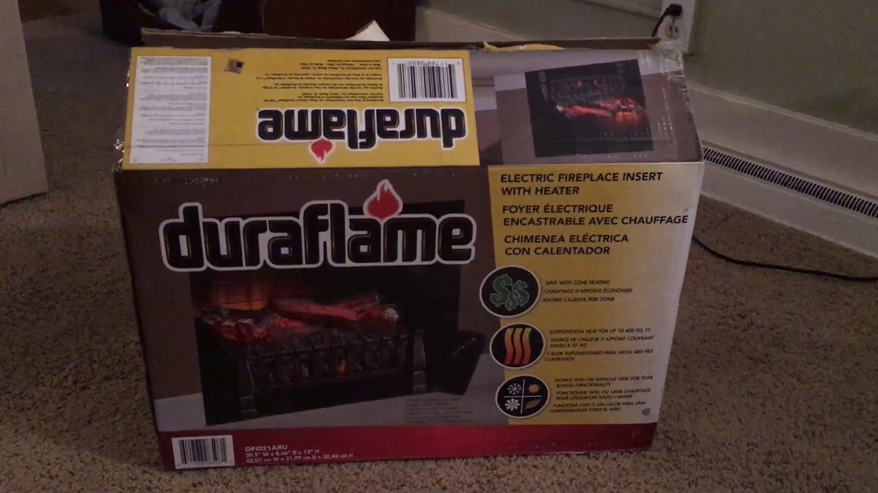 This is a review of the Duraflame 20-1/2 Electric Fireplace Log with Heater that I recently purchased. After a couple days of using this