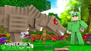 WE TAME OUR T-REX - Minecraft Dinosaurs w Little Lizard