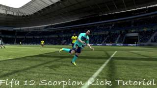 FIFA Skills Tutorial - The Scorpion Kick Indepth Tutorial HD - PS3 & Xbox 360