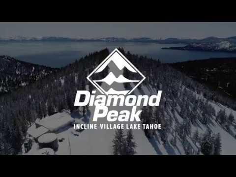 Diamond Peak Ski Resort from above (extended version)
