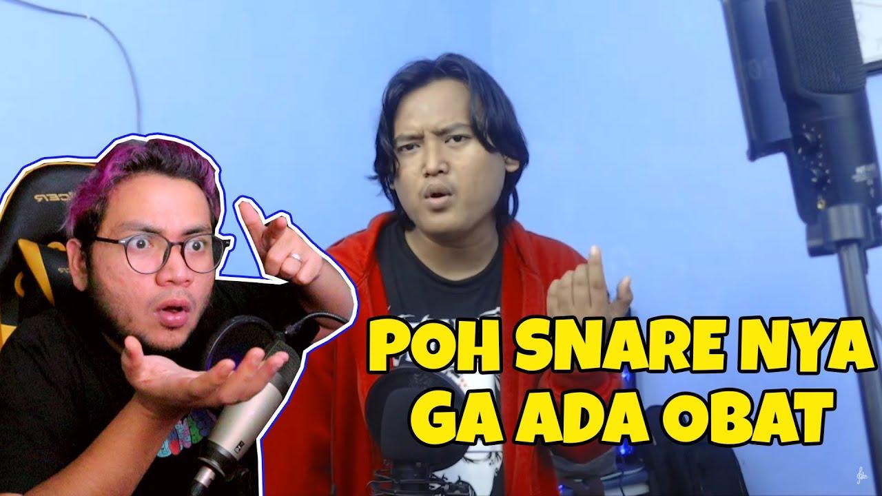 WAH GILAA !! BEATBOXER INDONESIA KITA INI EMANG MASTERNYA POH SNARE !! - SansReaction