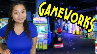Our first time at a GameWorks Arcade!