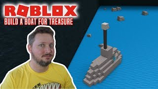 MIN UBÅD! - Roblox Build A Boat For Treasure Dansk Ep 2