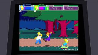 Game | The Simpsons Arcade Game The Co op Mode | The Simpsons Arcade Game The Co op Mode