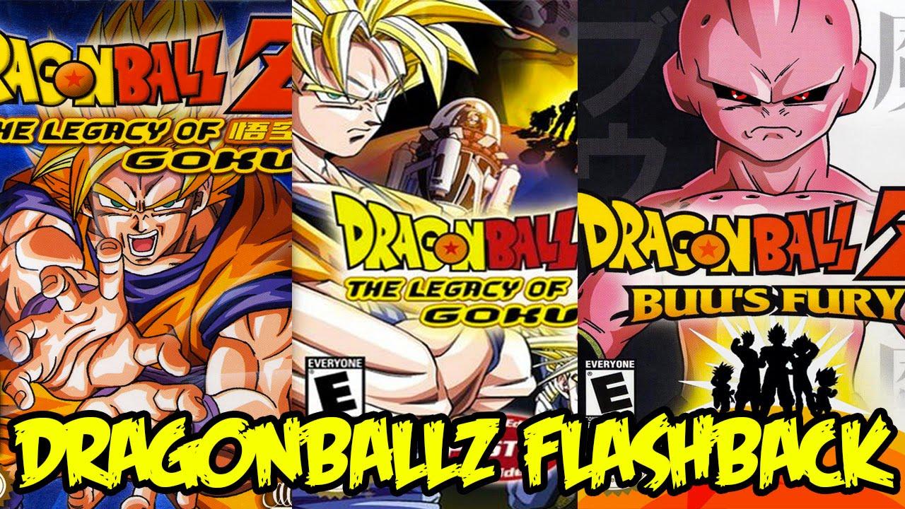 Dragon Ball Z The Legacy of Goku (series)