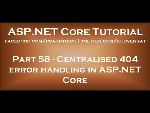 Centralised 404 error handling in ASP NET Core