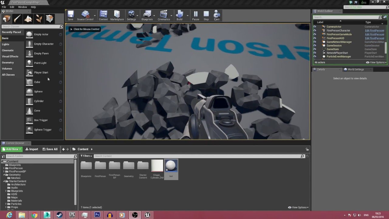 How to create a destructible mesh inside Unreal Engine 4 (tutorial)