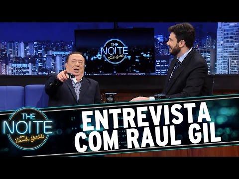 The Noite (07/01/16) - Entrevista Com Raul Gil