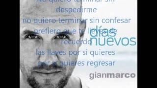 Respirar - Gianmarco Ft Alejandro Sanz (letra)
