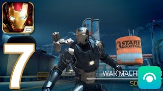 Iron Man 3: The Official Game - Gameplay Walkthrough Part 7 - LIVING LASER! (iOS, Android)