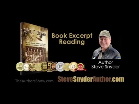 Author Steve Snyder is interviewed by host Don McCauley on The Authors Show