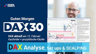 DAX aktuell: Analyse, Trading-Ideen & Scalping | DAX 30 | CFD Trading | DAX Analyse | 12.02.2020