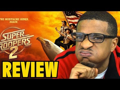 Super Troopers 2 MOVIE REVIEW