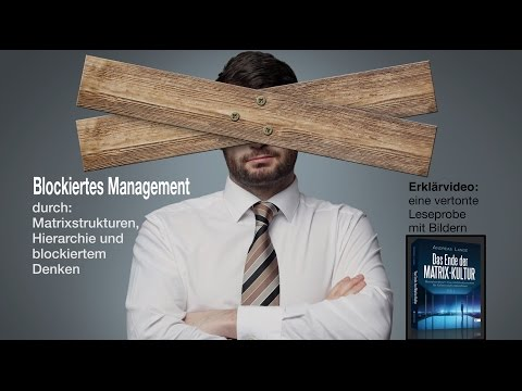 Blockaden auflösen im Management - Matrix-Kultur, Matrixstruktur & Hierarchie - Andreas Lange