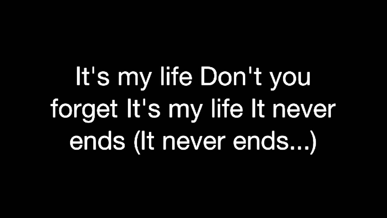 no doubt it s my life lyrics youtube