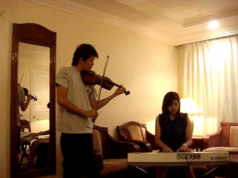 Iris by Goo Goo Dolls (violin and piano cover) -kim&khang