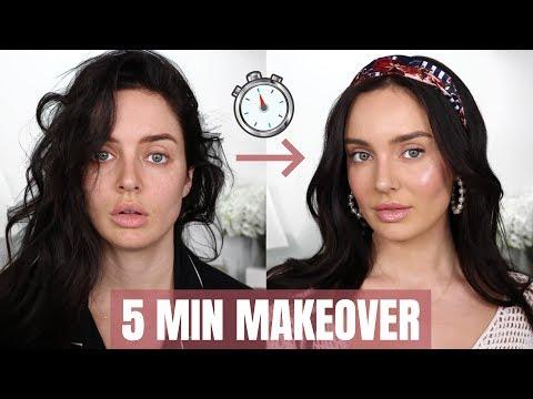 0-100 Beauty Transformation! Quick Makeup Tips \\ Chloe Morello thumbnail