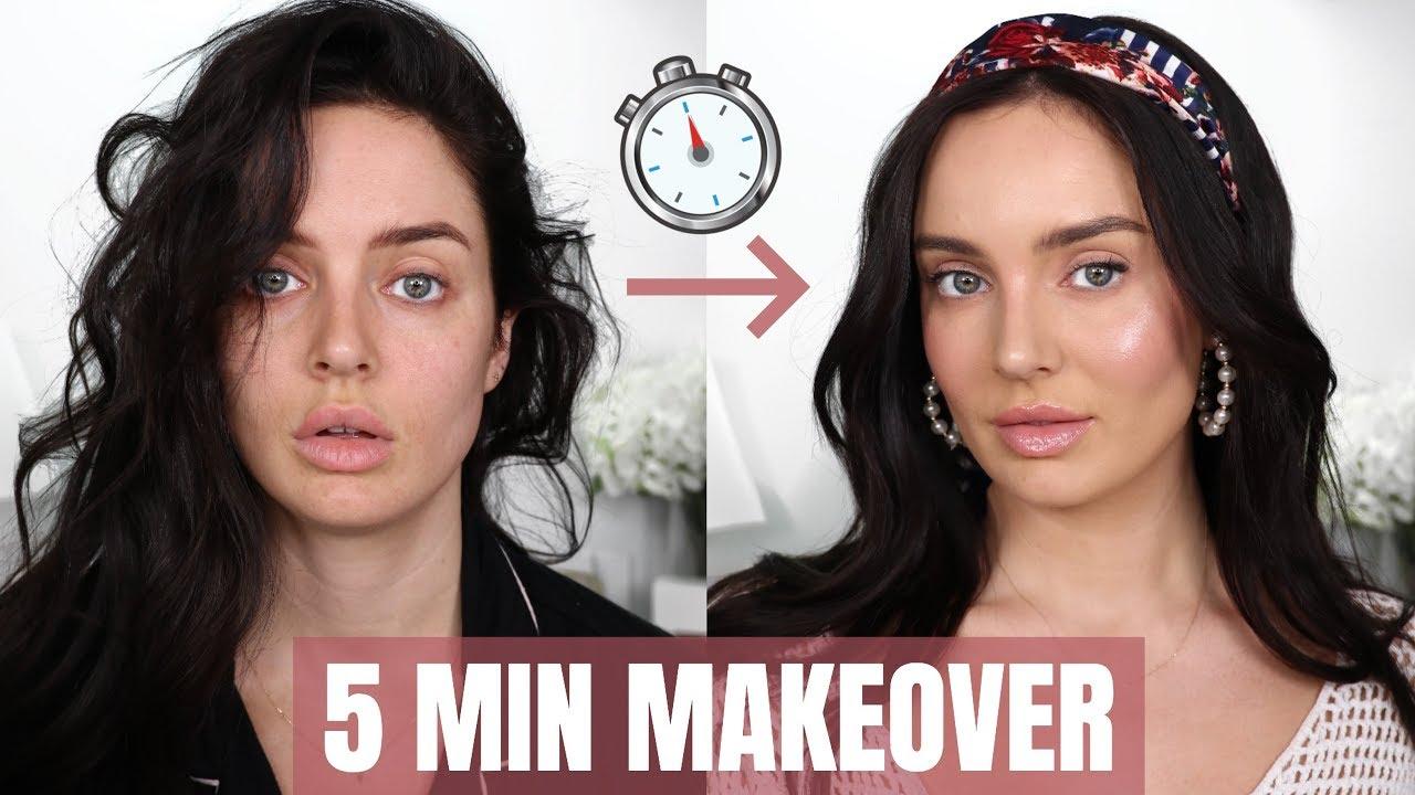 12-11212 Beauty Transformation! Quick Makeup Tips  Chloe Morello